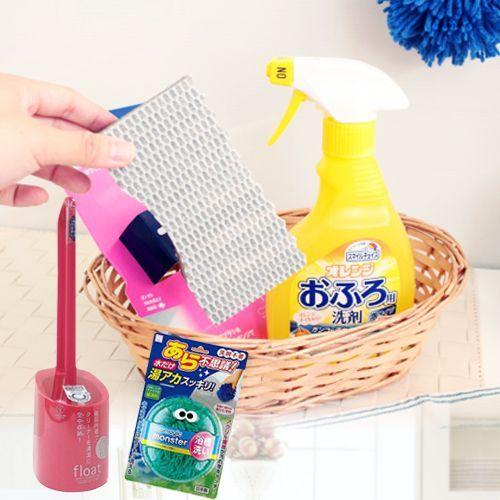 日本最好用【浴廁✖廚房清潔好物】大集合