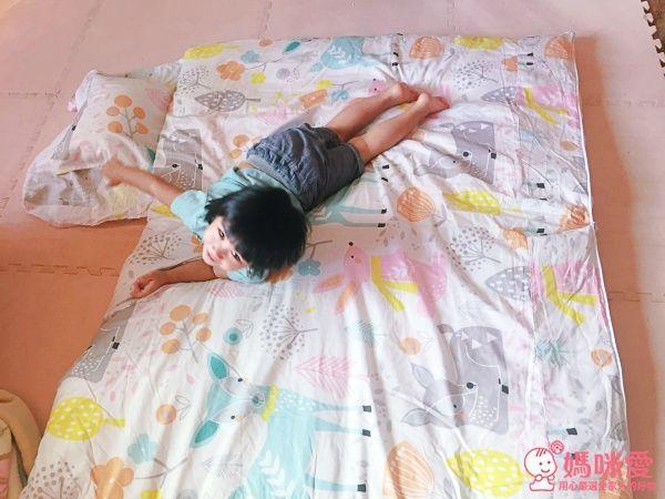 【濱川佐櫻】 純棉冬夏兩用兒童睡袋