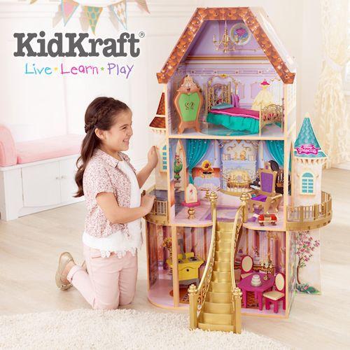 美國 KidKraft 限量迪士尼娃娃屋 x Begin Again 純木質拼圖