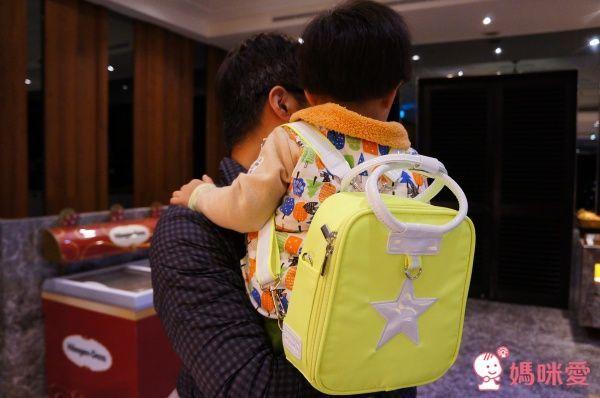韓國 Besson JouJou 保溫保冷兒童包 螢光系列