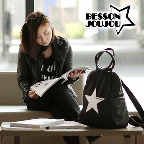 韓國 BESSON JOUJOU 베쏭쥬쥬 ★ 高人氣星星親子包/媽媽包
