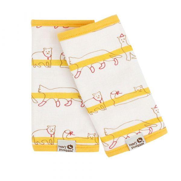 寶寶揹巾專用『胸前口水巾、肩帶口水巾』