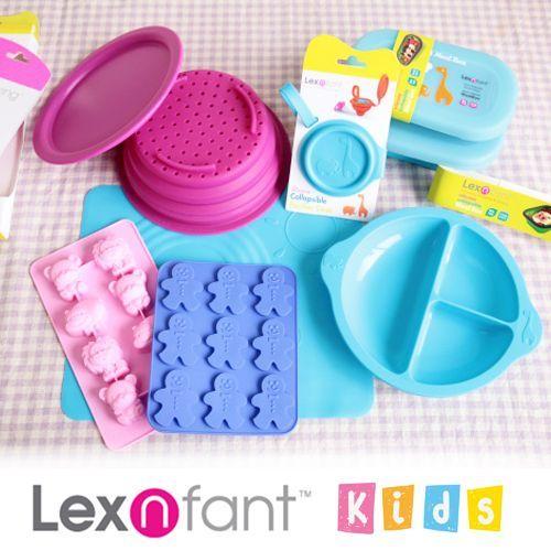 Lexngo ✕ Lexnfant 矽膠折疊餐具