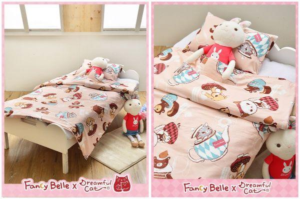 義大利 Fancy Belle 兒童純棉防蹣抗菌兩用被枕頭2件組