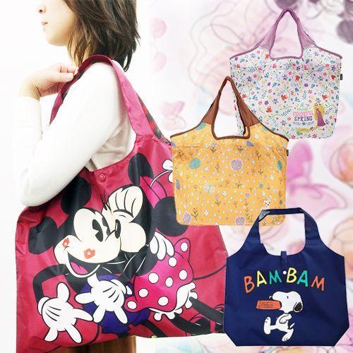 【2件免運】日本直送 ✦ 超Q迪士尼購物袋