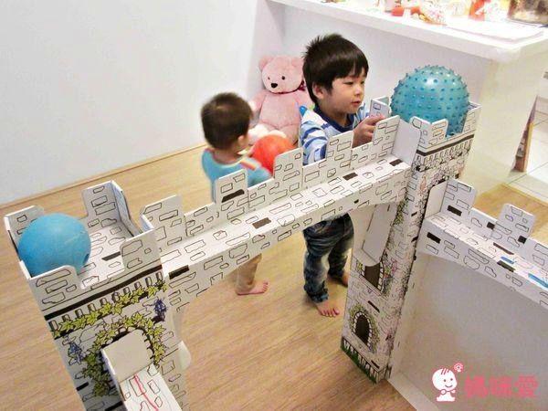 維生樹 好玩有趣 ❤ 紙箱城堡/紙箱餐車/紙模型機器人