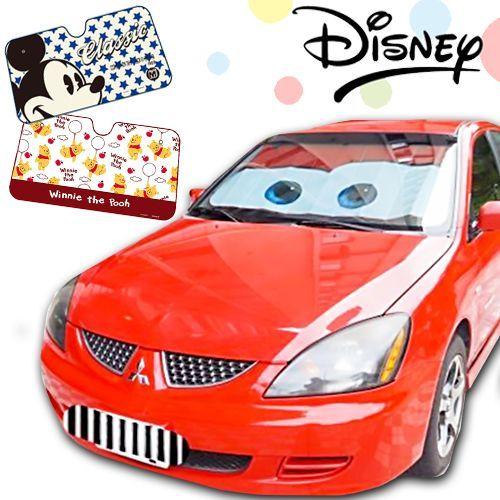 DISNEY 迪士尼正版授權!車用擋風玻璃遮陽板 / 隔熱板
