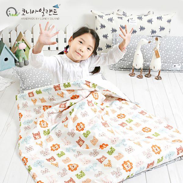 韓國 2cm+透氣乳膠墊睡袋,支撐力UP↑,分散受力保護寶貝脊椎 ♥