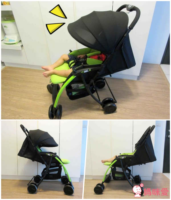 【義大利 Pali 】TRE.9 超輕量 3.9kg 嬰幼兒手推車✕ sei 9 可折疊嬰幼兒手推車