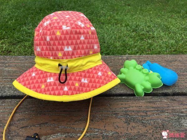 日本 Beady Gem 可收納涼感遮陽帽