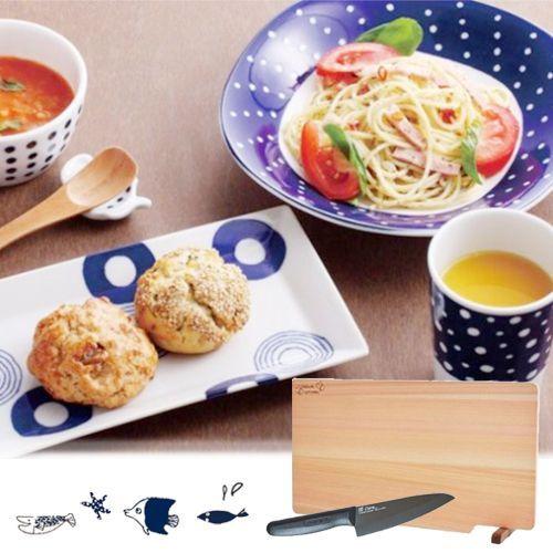 日本刀具x波佐見燒x美濃燒 精緻餐廚用品
