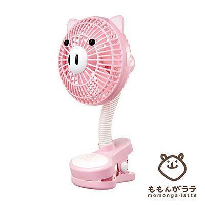 【 小獅王 Simba 】蘿蔓晶鑽玻璃奶瓶系列 ✕ 日本萌萌家夾式電風扇