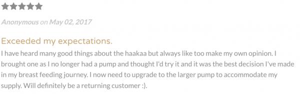 免手持不手痠 ❤ 紐西蘭 Haakaa 真空吸力集乳器