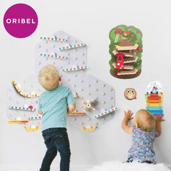 是壁貼也是玩具【新加坡 oribel vertiplay】可重複撕黏,不留殘膠