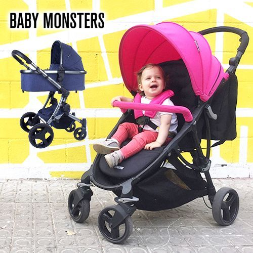 西班牙 BABY MONSTERS - Compact / Premium 嬰幼兒手推車