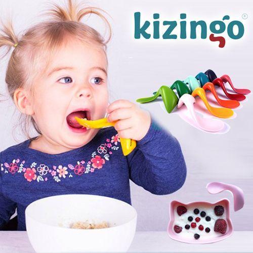 美國 Kizingo 曲線學習湯匙