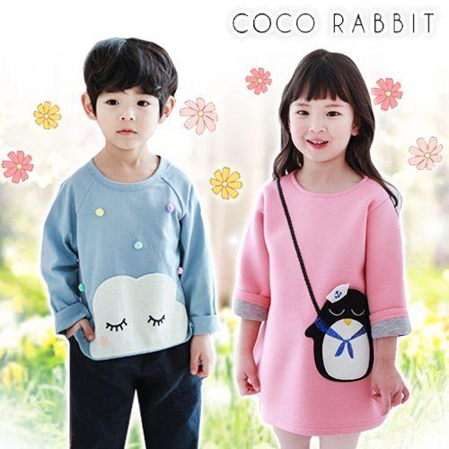 韓國 Coco rabbit★萌翻動物造型春裝 - 洋裝 / 上衣