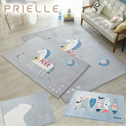韓國 Prielle 超細纖維地毯&腳踏墊 ❤ 親膚又柔順