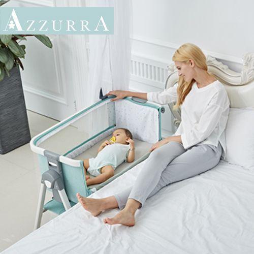 義大利 AZZURRA 床邊床 ☾ 買就送宮廷式蚊帳&獨家玩具!