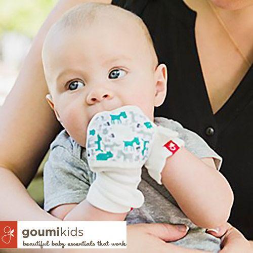 美國 GOUMIKIDS 嬰兒防抓手套 1 元熱銷中!
