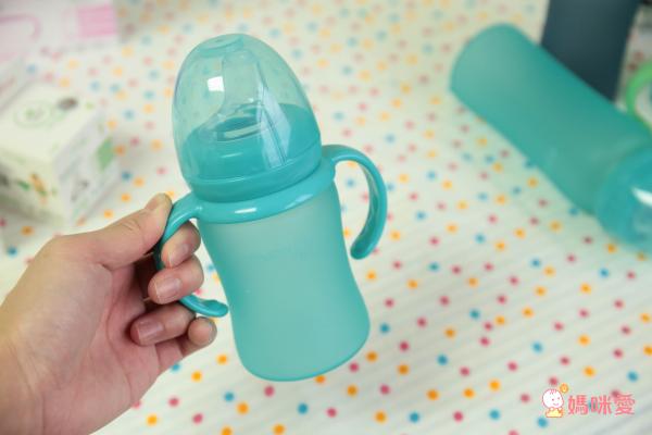瑞典 everyday baby MilkHero 感溫變色玻璃奶瓶