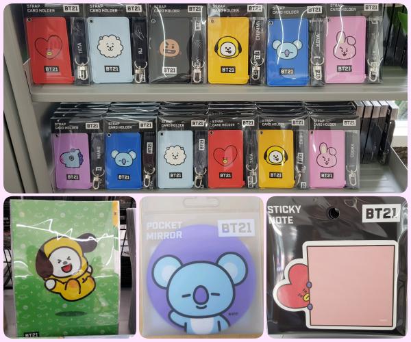 韓國 BT21 聯名商品-文具類