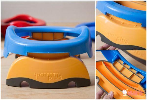 美國Potette Plus可攜式馬桶