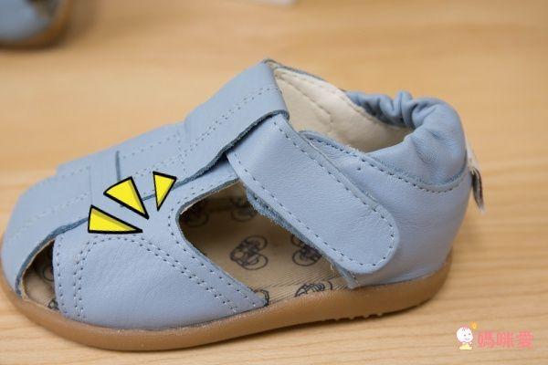 英國 shooshoos 真皮手工涼鞋/學步鞋