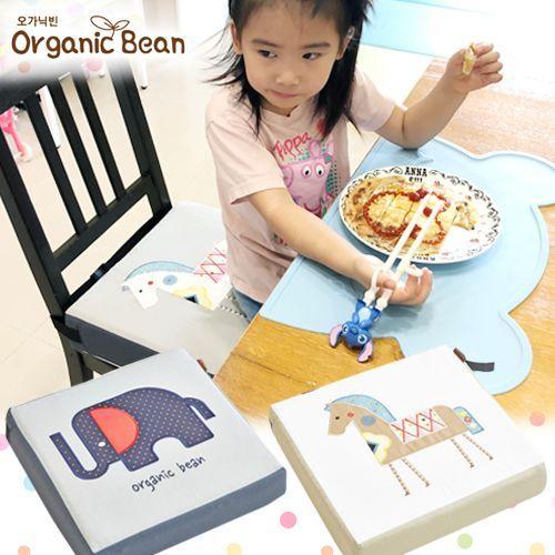 韓國 Organic Bean 防水乳膠兒童增高座墊『全團現貨免運』