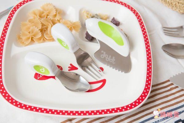英國Doddl 不鏽鋼餐具,1~5歲嬰幼兒吃飯神器