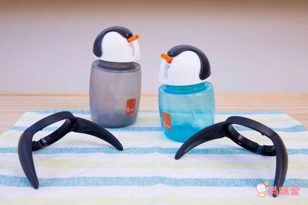 荷蘭 Umee 優酷企鵝雙握把吸管水杯