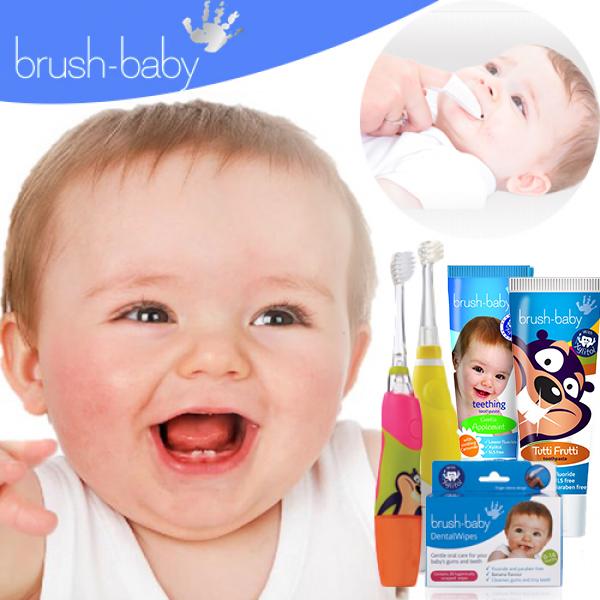 【英國 brush-baby】嬰幼兒聲波電動牙刷