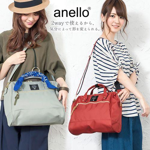 日本正品【anelloアネロ】手提側背包/托特包