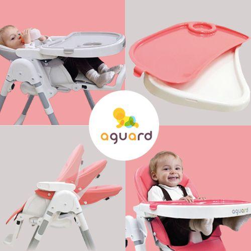 韓國 aguard TOSBY 幼童高腳餐椅,可平躺!3M~3Y適用