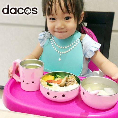 2y 用到幼稚園畢業!日本 dacos 不鏽鋼餐具,孩子開心吃飯