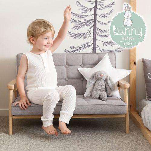 獨賣價 ❤︎【澳洲Bunny Tickles】經典復古實木兒童沙發 ♛ 絕對經典單品!