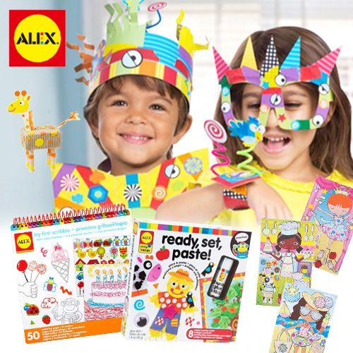 美國幼兒園課程指定使用!★【 ALEX 】美勞手作系列