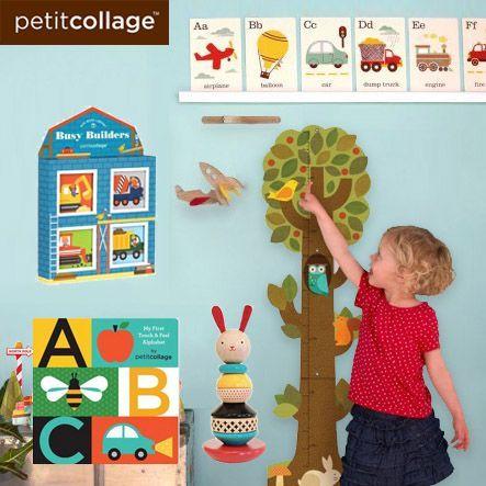 美國 Petit Collage 童書/貼紙書/益智遊戲✫繽紛童話風