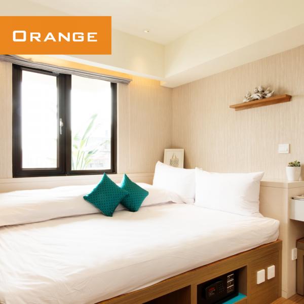 Orange Hotel 福泰桔子商旅西門店、開封店 ❤ 大台北最精華地段