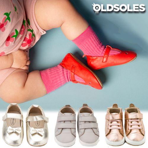 【澳洲設計師品牌old soles】頂級真皮 全程手工製作 休閒鞋/學步鞋/娃娃鞋