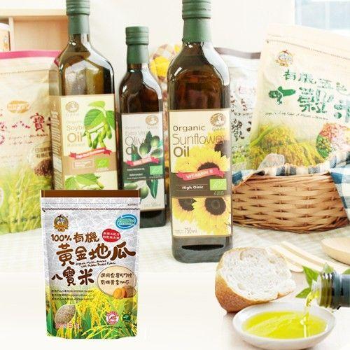 【青荷有機】米森有機營養穀米 / 格亞有機烹飪好油