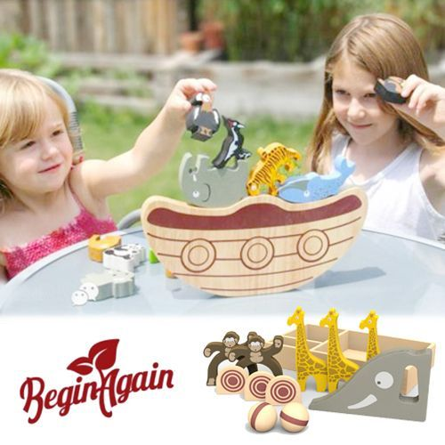 ❤美國 Begin Again ❤ 木質拼圖 ✖ 益智玩具