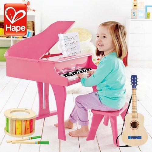 德國 Hape 音樂系列優質木頭玩具