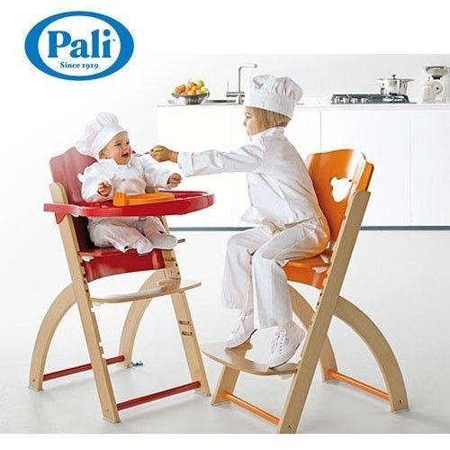 義大利 Pali ✭ Pappy Re 高級櫸木兒童成長餐椅