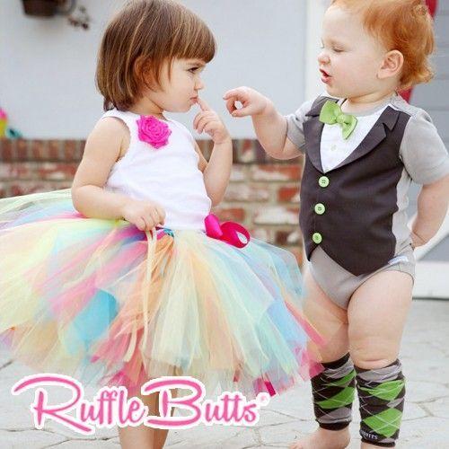 【美國 Rufflebutts】長袖兔裝 / 包屁衣 / 內搭褲