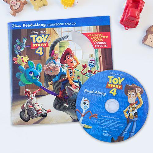 近期討論度最夯的電影★《玩具總動員4》CD有聲書來了!【迪士尼/皮克斯】英文CD有聲書系列★