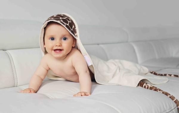 波蘭Maylily 竹棉新生兒浴巾