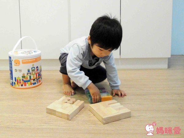 new! ✿美國 kids preffered 彩色益智積木組 (100塊裝)