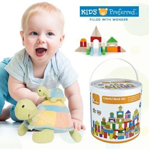 美國 kids preferred ✰ 益智木頭玩具 ✕ 嬰兒布書玩偶系列 ✰