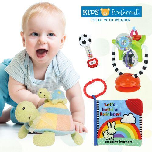美國 kids preferred 嬰幼兒布書布玩具系列